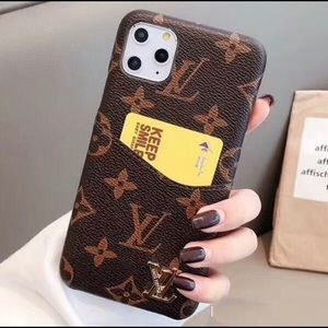 Louis Vuitton IPhone Case with pocket